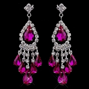 Fuschia chandelier earrings chandelier ideas chandelier earrings aloadofball