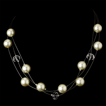 Necklace 8362 Ivory