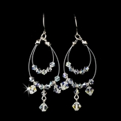 Earring 8153-Silver-AB