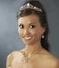 Gold or Silver Plated Bridal Tiara HP 8266