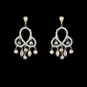 Earring 811 Silver AB