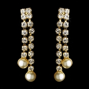 * Earring 501 Gold Ivory