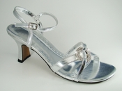 Angel Silver Evening Shoe