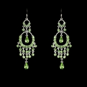 * Chandelier Earring E 801 Green