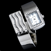 Rhinestone Crystal Bridal Watch 11