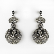 Earring 8291 Black **Discontinued**