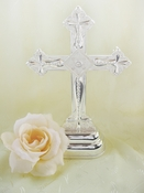 Cross Crucifix Cake Top w/ Crystals 80103