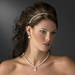Elegant Single Ivory Pearl Row Bridal Headband - HP 70644