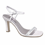 Hottie Dyeable Bridal Wedding Shoes With Rhinestones