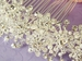 * Pearl & Crystal Bridal Side Back Comb 8225