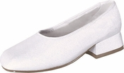 Childrens New Mary Dyeable Shoes without Strap Sizes 12.5-4