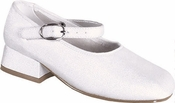 Childrens New Mary Dyeable Shoes with Strap Sizes 9-12