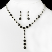 Necklace Earring Set 5790 Black