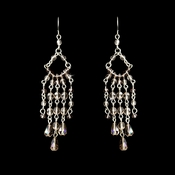 * Pink Swarovski Crystal Earrings E 240 *Only 5 Left*
