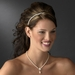 Necklace Earring Set 409 Gold Ivory