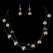 Necklace Earring Set NE 8362 Gold