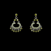 * Earring 20377 Silver Olive
