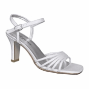 Amber Dyeable Bridal Wedding Shoes (No Crystals) 5022