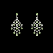 * Earring 20476 Silver Green