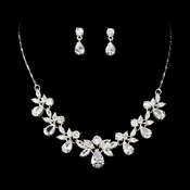 Stunning Crystal Bridal Jewelry Set NE 71746