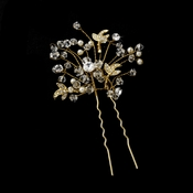 * Crystal and Rhinestone Hair Pin 6268***Discontinued***