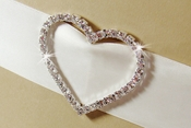 Rhinestone Buckle for Invitation Embellisments BQ Buckle 2154