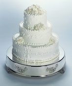 14 Inch Round Wedding Cake Tableau Stand CT 5575***Discontinued***