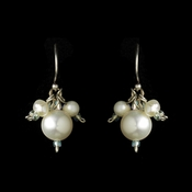 Shimmering White Freshwater Pearl Earrings 8255
