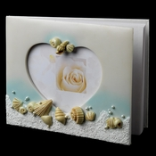 Guest Book 410 Beach Sea Shell