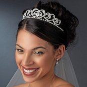 * Silver Plated Bridal Headband HP 3206