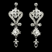 Stunning Crystal Chandelier Earrings E 1031***Discontinued***