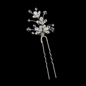 Crystal Sprung Ornate Hair Pin 91 (1 piece)