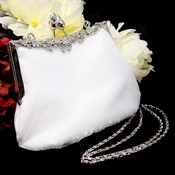 Rich Floral Rose Crystal Cut Handbag BP 4