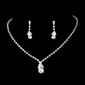 Necklace Earring Set 8385 Gold
