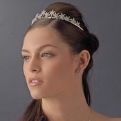 Winter Snowflake Bridal Tiara HP 5439
