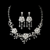 Stunning Swarovski Crystal Jewelry Set NE 6522 * Gold Only