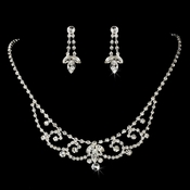 Swarovski Crystal Jewelry Set NE 7200