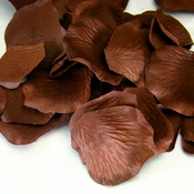 Brown Rose Petals (100 Count) #120