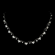 Beautiful Floral Designer CZ Necklace N 2502