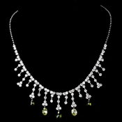Necklace 3628 Silver Olive