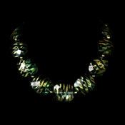* Necklace 8337 Gold Green