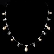 Necklace 8351 Ivory