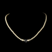 Necklace 8376 Crystal Ivory