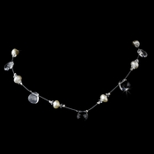 Necklace 8136 Silver Clear