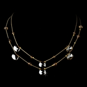 * Necklace 8140 Gold Light Brown
