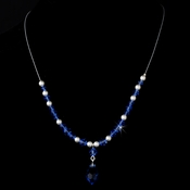 Necklace 8354 Blue