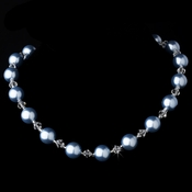Necklace 8355 Light Blue