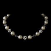 Necklace 8425 Silver Ivory