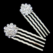 * Crystal Hair Ornament Comb Pin 45