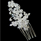 Crystal Hair Comb Pin 1489